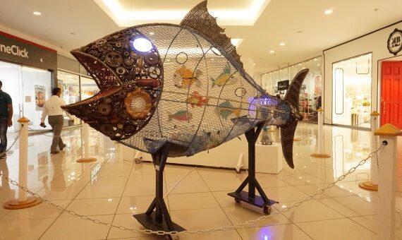 Galería 360 inaugura exhibición de esculturas del artista Nelson Barrera